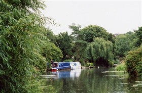 Photo:Narrow boat on the Nene at March